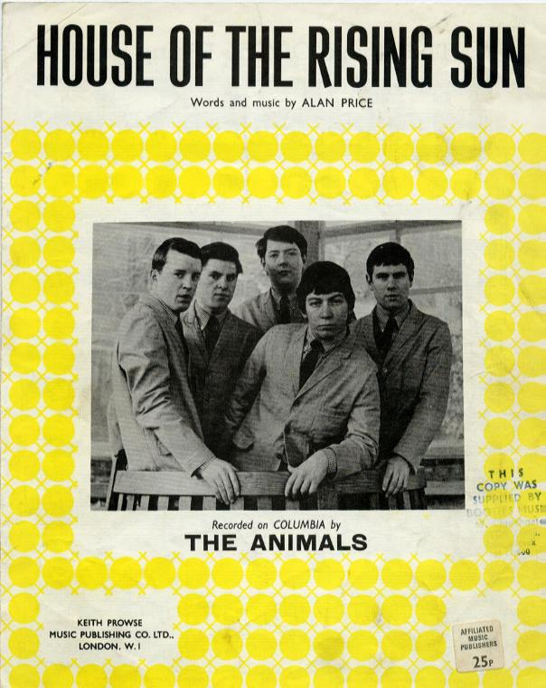 understanding the song house of the rising sun Song information for house of the rising sun - the animals on allmusic.